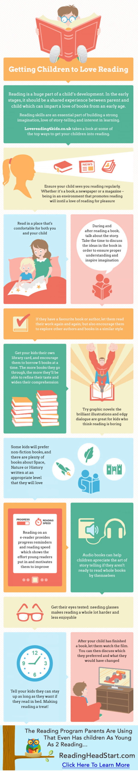 how to get your child interested in reading